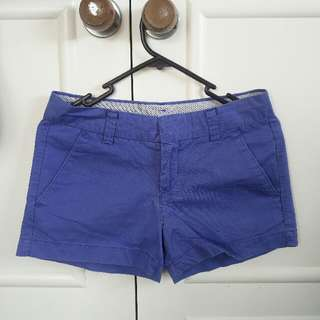 Blue Khaki Shorts