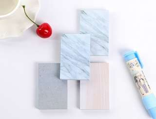 White Marble Sticky Notes (small)