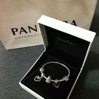 💯 Authentic Pandora Bracelet & Charms Set (Pre-loved)