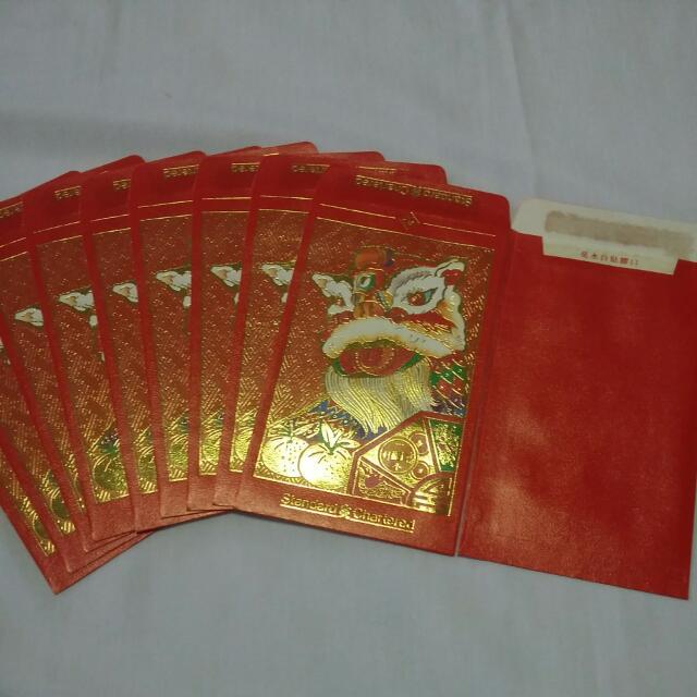 fabulous pcs standard chartered vintage red packet ang pow hong bao with baos vintage - Baos Vintage