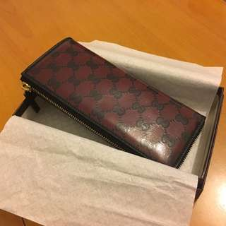 Gucci wallet with original packing 長銀包 拉鏈