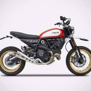 Zard Exhaust Systems Singapore Ducati Scrambler 800 Euro 4 Ready Stock ! Promo ! Do Not PM ! Kindly Call Us !