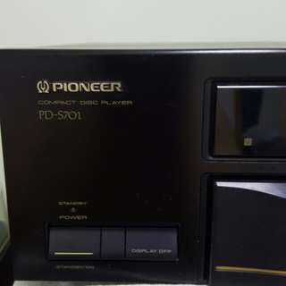 Pioneer PD-S701  Compact Disc Player