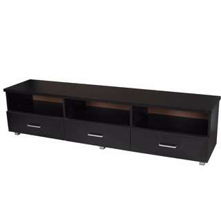 brand new 3 drawers TV unit, still in the flat-pack