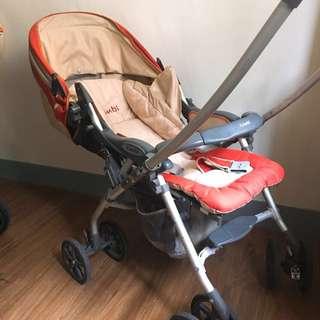 Combi雙向嬰兒手推車