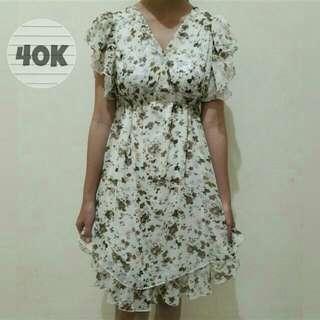 Floral Botanical Dress