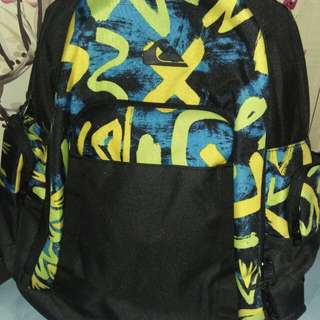backpack quicksilver..ori..new with price tag,plastic n paperbag..