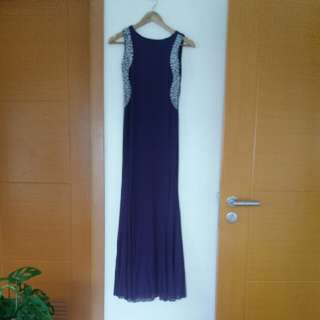 Purple Long Gown REPRICED