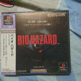 Biohazard Resident Evil 生化危機 惡靈古堡 初代