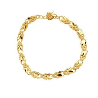18K Gold Plated Angel Heart Bracelet