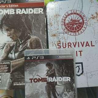 Tomb Raider 2013 Collector Edition 盜墓者羅拉 古墓奇兵 2013 珍藏版