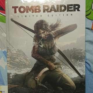 Tomb Raider 2013 Limited Edition Guide Book 盜墓者羅拉 古墓奇兵 2013 英文限量版攻略本