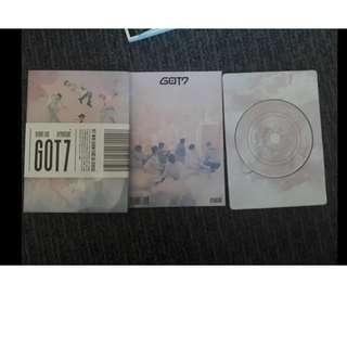GOT7 Flight Log Departure Album (no PC)