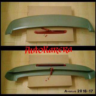 Avanza Spoiler with Breaklight
