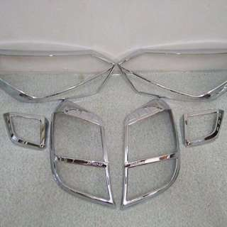 Wigo gen2 Headlight and Taillight cover