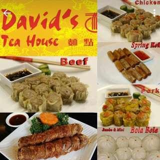 David's Tea House Dumplings