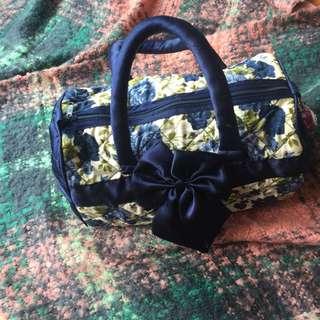 Thai flower handbag