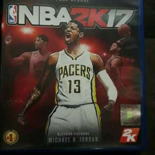 PS4 Game NBA 2k17 No Scratches