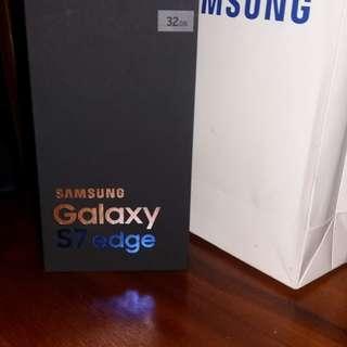 Samsung Galaxy S7 edge  dous Silver