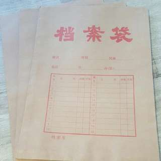Old School Paper Folio (Chinese Characters)