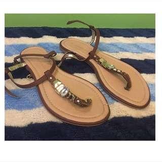 dorothy perkins embelished sandals
