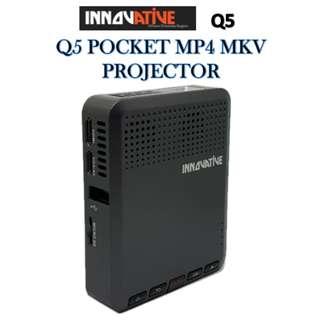 Innovative Q5 POCKET MP4 MKV PROJECTOR