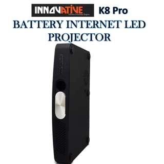 Innovative ★ K8 PRO BATTERY INTERNET LED PROJECTOR