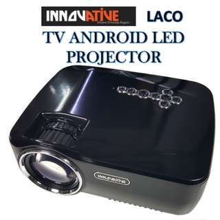 Innovative ★ LACO TV ANDROID LED PROJECTOR