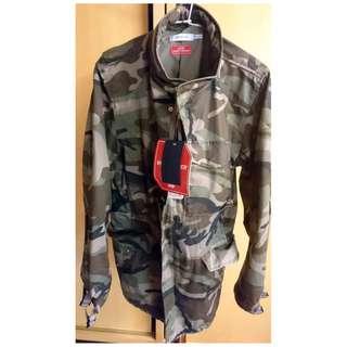 PUMA 軍裝外套 迷彩外套 限量版 日本製造 M號 免運費 全新