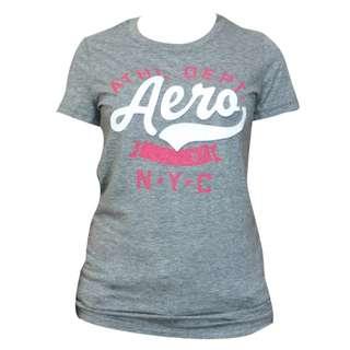 Aeropostale N.Y.C. T-Shirt for Ladies (Gray)