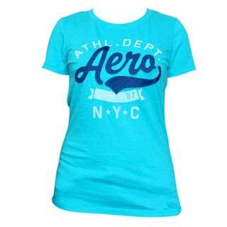 Aeropostale N.Y.C. T-Shirt for Ladies (Turquoise)