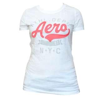 Aeropostale N.Y.C. White T-Shirt for Ladies (White)