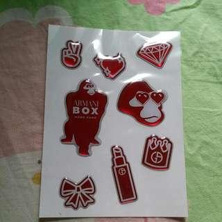 Armani Stickers