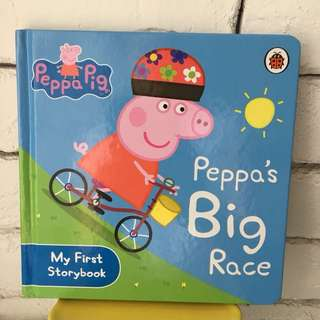Peppa Pig - Peppa's Big Race . My First Storybook