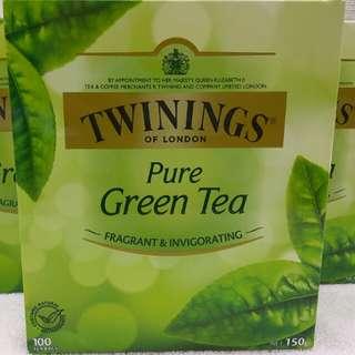 TWINING Pure Green Tea 川寧綠茶