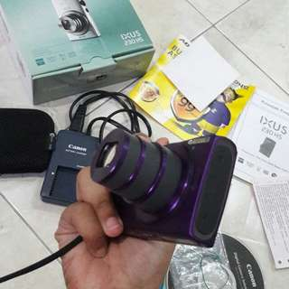 Canon ixus 230hs #mauanalog