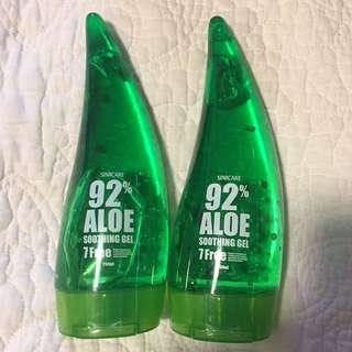 92% Aloe Soothing Gel 250ml