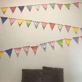 Birthday Party Flag/ Banner 1.8m x3