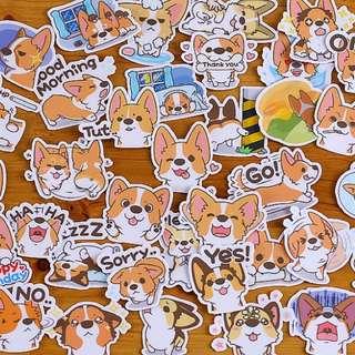 ⏰ Planner Stickers — Animals Dogs (Corgi / Shiba Inu)