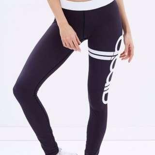 Aim'n black sports tights size XS