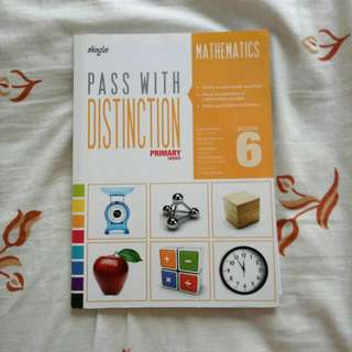 Brand New Shinglee Pass With Distinction Mathematics Book 6