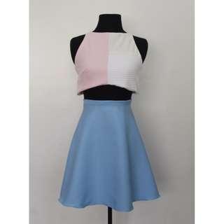 2 Piece Pastel Dress