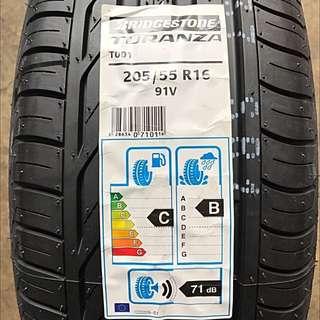205/55R16 Bridgestone T001