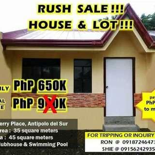 SALE!! HOUSE&LOT in Lipa City Batangas