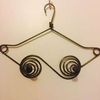 Vintage breast style bag holder