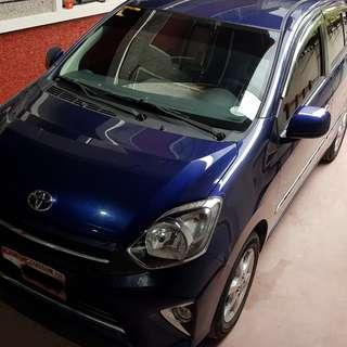 Toyota Wigo G AT 2016 Blue