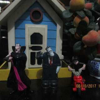 Transylvania Happy Meal Toys SET 4
