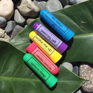 Aromatherapy essential oil inhalers