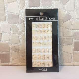 MODI Tweed Nail Sticker