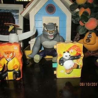 Kung Fun Panda Happy Meal Toys SET 5